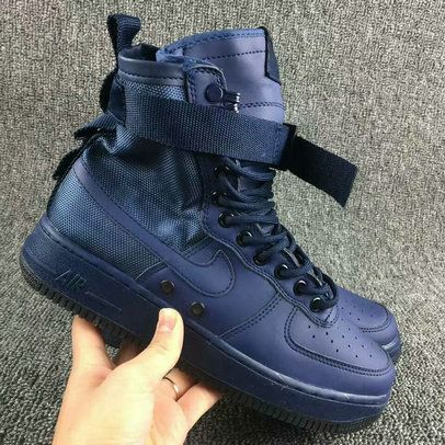 4cdd6a389e102 2018 Shop Nike Special Field Air Force 1 Binary Blue Youth Big Boys Shoes