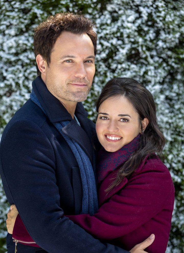 david haydn jones and danica mckellar in my christmas dream hallmark christmas movies