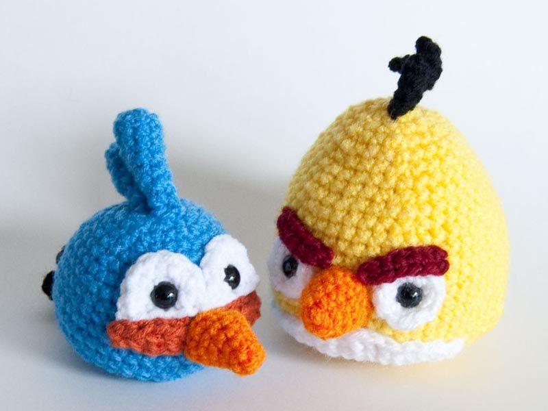 Tutorial Amigurumi Angry Bird : Amigurumi angry bird free crochet pattern tutorial free