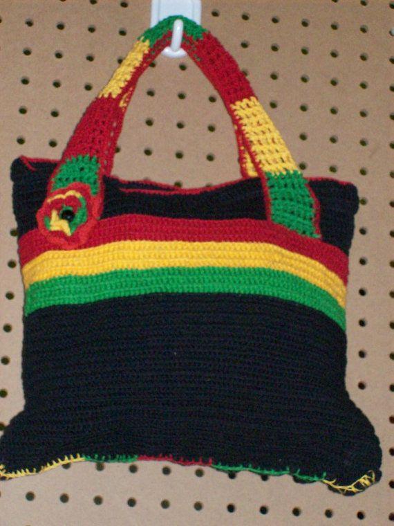 Rasta/Hippie crochet bag by tambocollection on Etsy, $25.00 | bolsa ...
