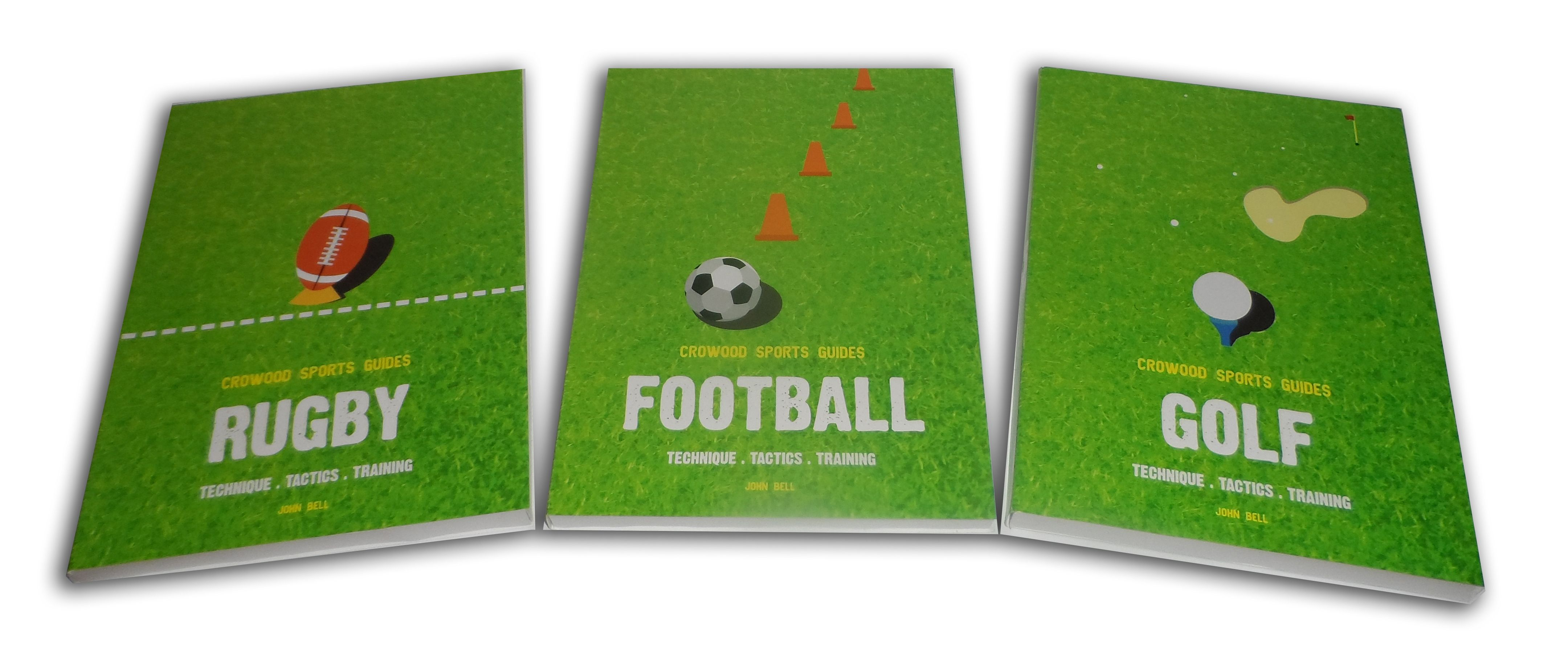 Book Covers (Crowood Sports Guides)