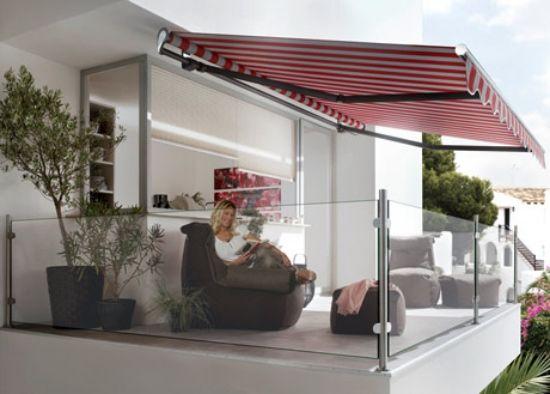 Terrassen » Die passenden Markisen für Balkon auswählen \u2013 17 schöne - markisen fur balkon design ideen