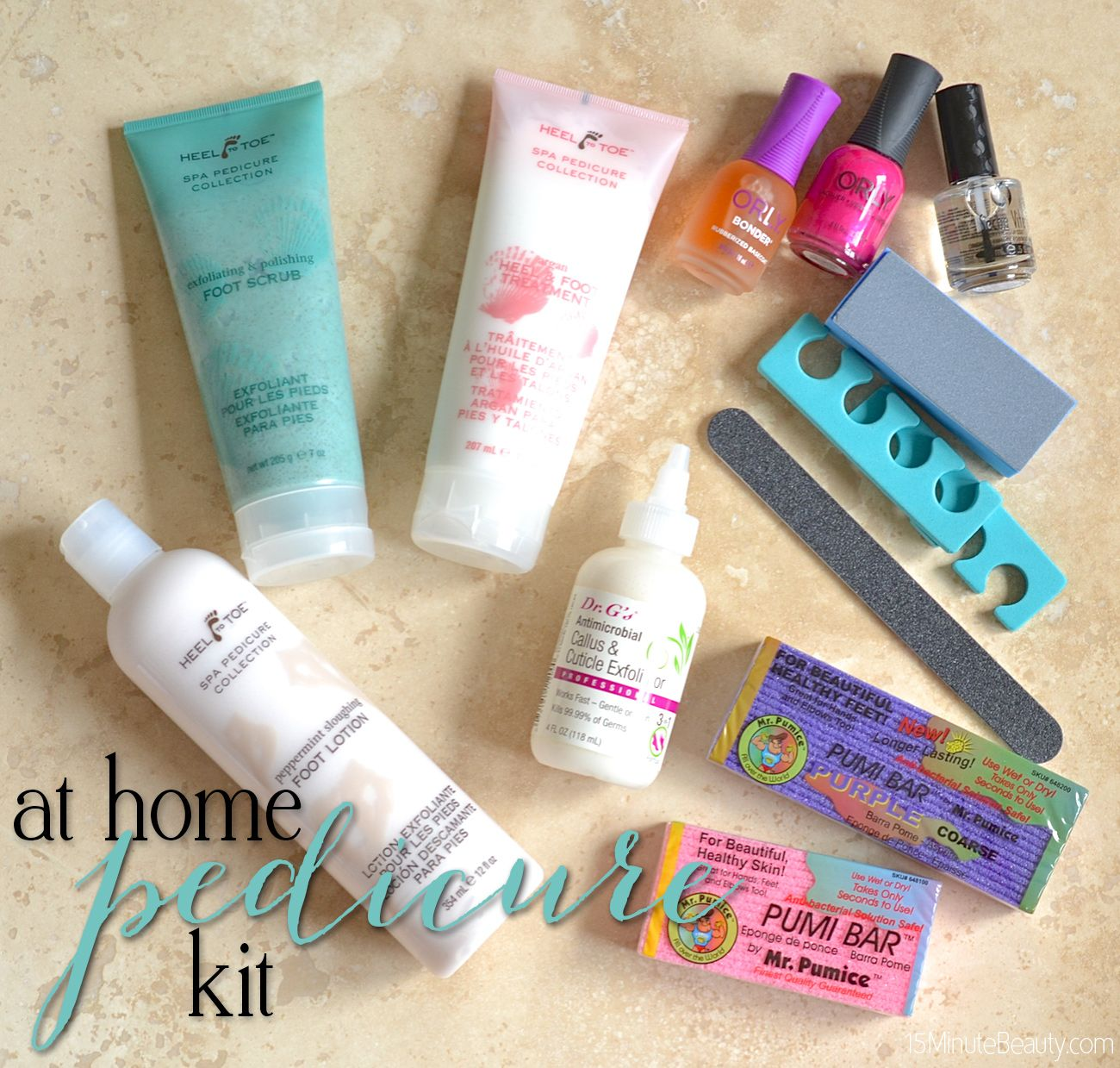 At Home Diy Pedicure Kit Everything You Need Diy Pedicure