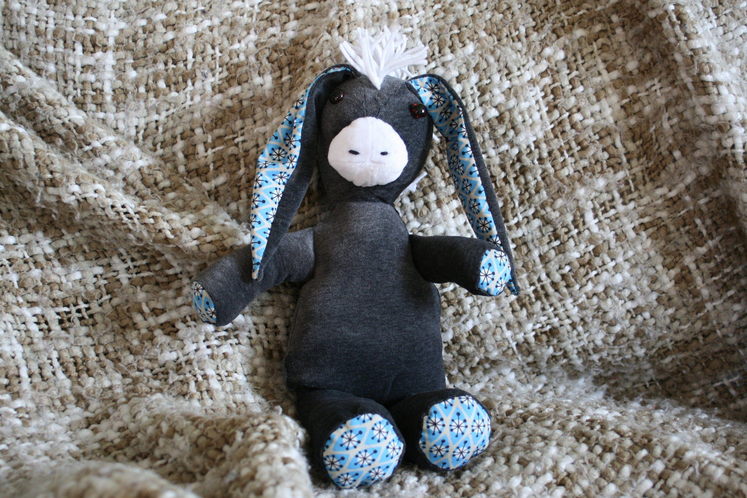 Esel von Stefanie Perlenfee nähen - kostenloses Schnittmuster | Das ...