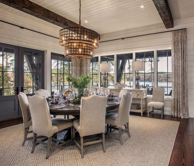 35 Tasteful Dining Room Lighting Ideas: Interesting Industrial Lighting Ideas