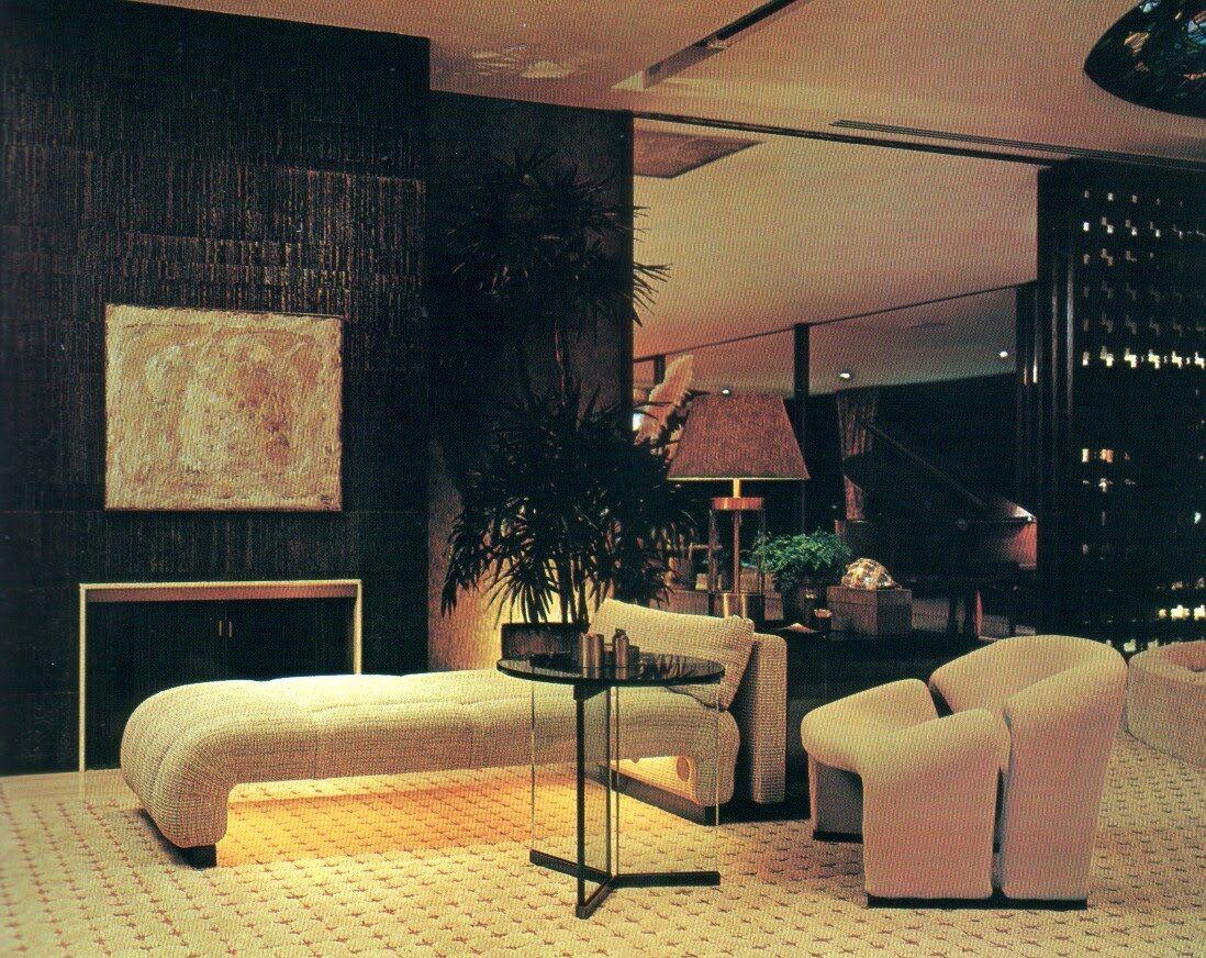 Chase Interior 1970 Lounge Vintage Interiors Pinterest