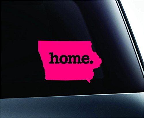 Home Iowa State Symbol Decal Funny Car Truck Sticker Window Black Expressdecor Http Www Amazon Com Dp B00tg0bva8 Ref Truck Stickers Car Humor State Symbols
