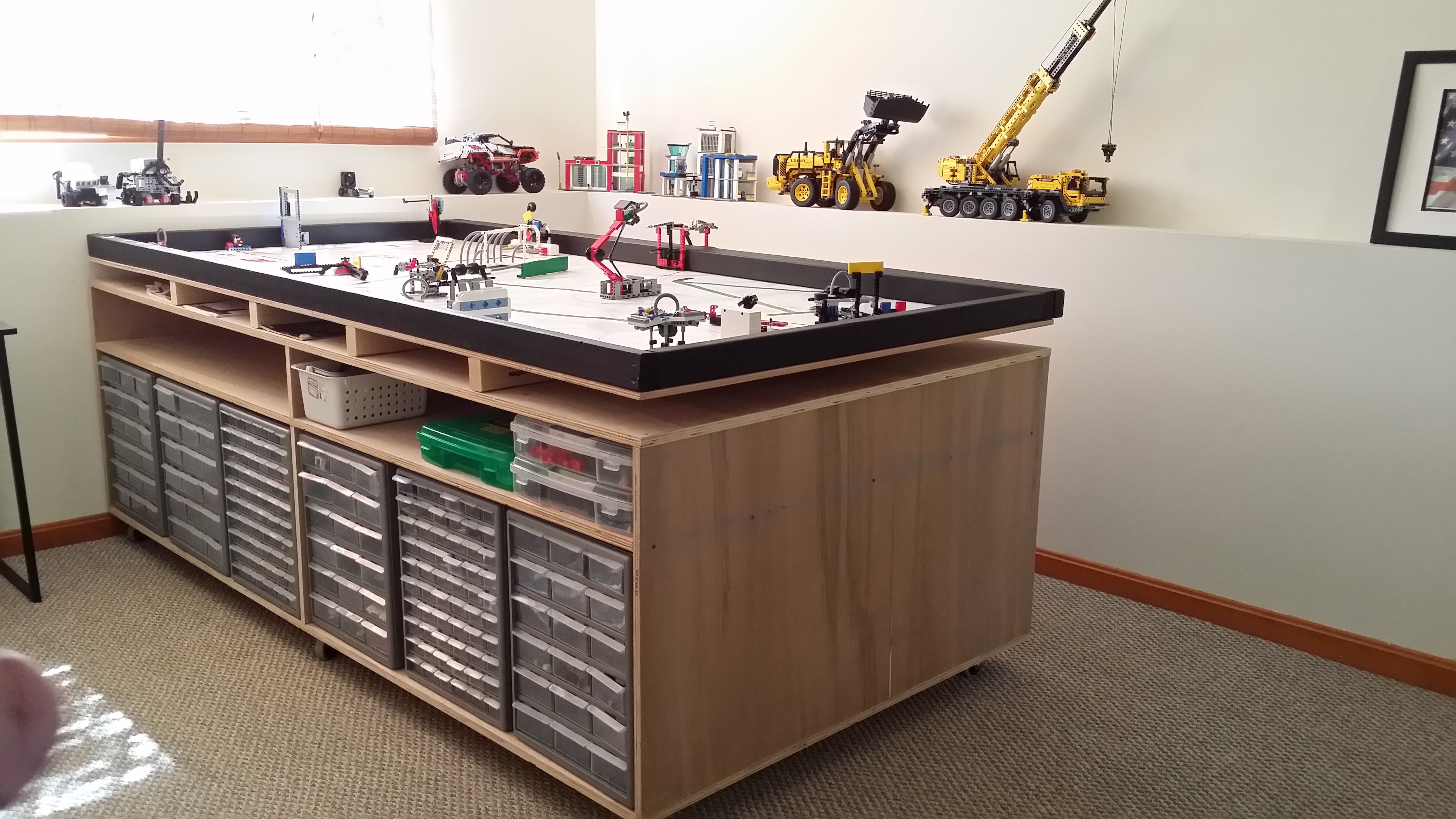 Fll Lego Table My Daughter And I Built