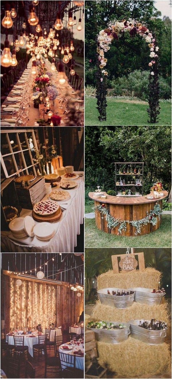 foto Fall Wedding Decor Ideas We're Loving