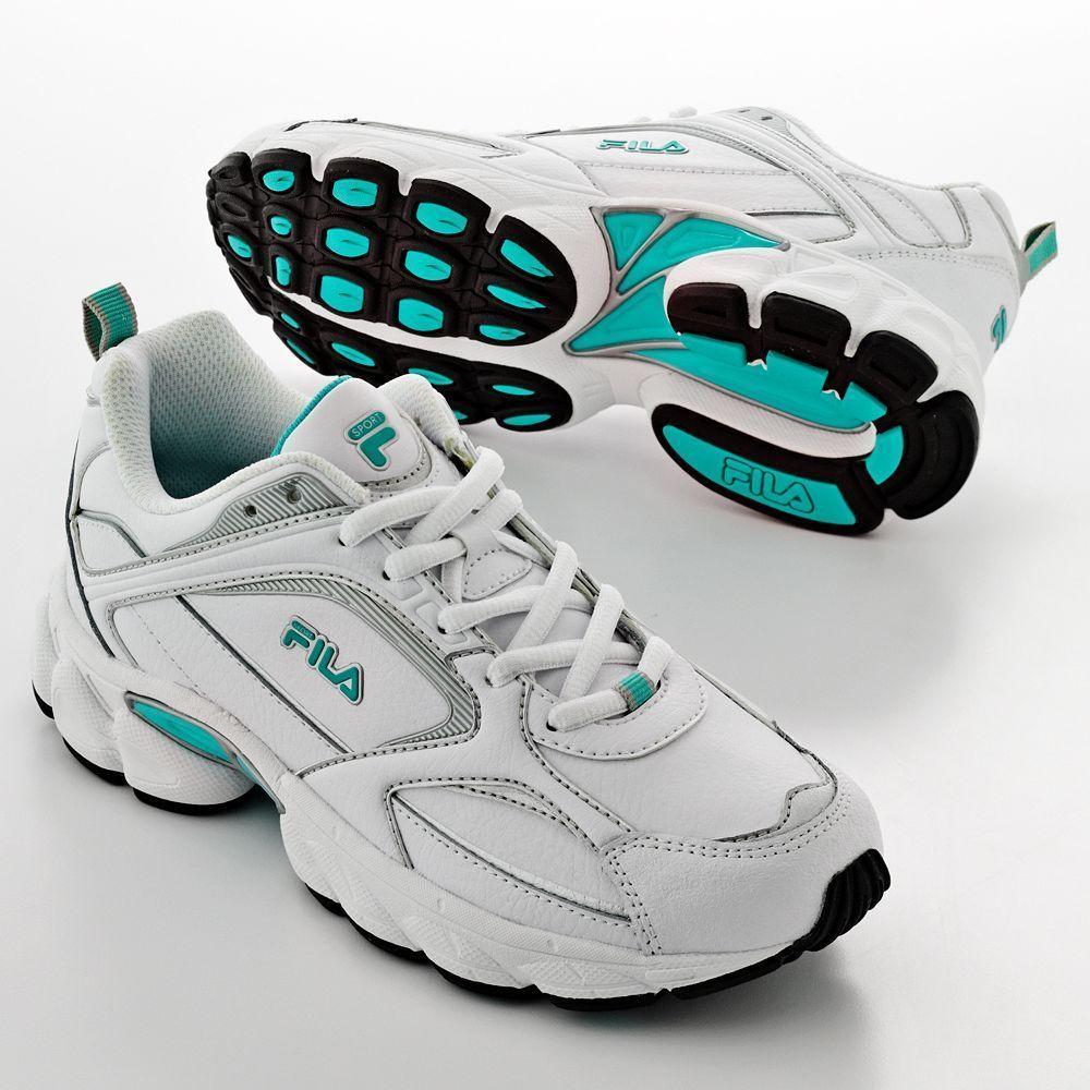 d0cff63a7b6d FILA SPORT shoes Decimus Cross Trainers Leather women s size 11 NEW 29.99  http