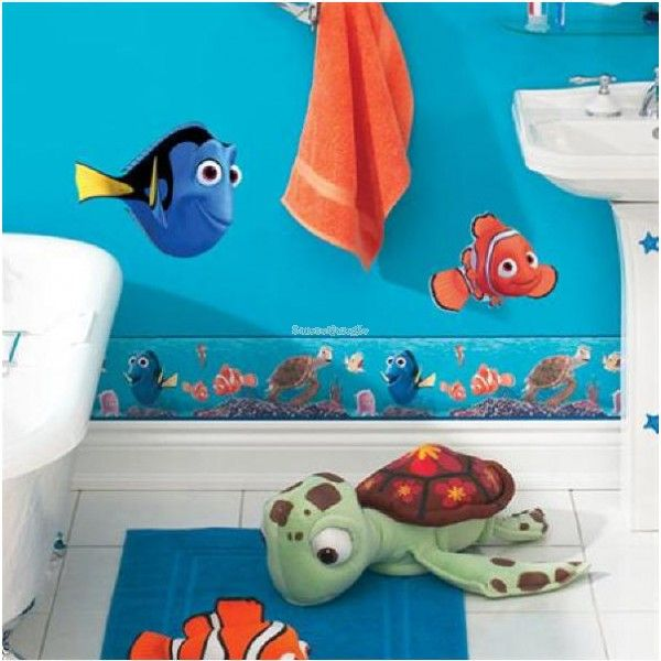 Nemo Bathroom Custom Decorating Ideas