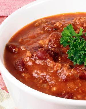 Chili con carne estilo Texas