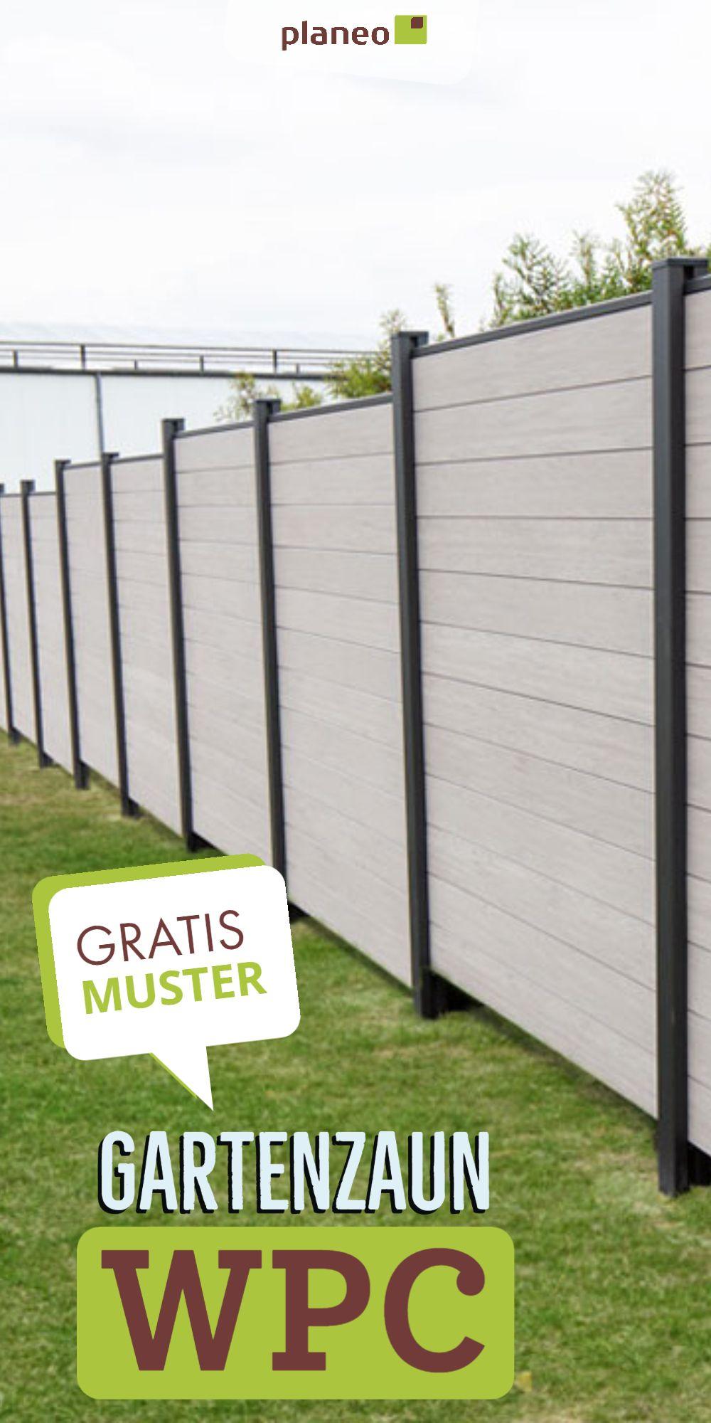 Gartenzaun Wpc Tolle Ideen Fur Deinen Sichtschutz Moderne Und Langlebige Zaunelemente Gartenzaun Terrasse Zaun Zaun