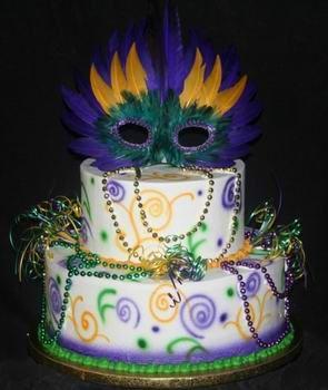 Mardi Gras Cake Ideas | Wedding Cakes, Cupcakes, Cookies, Cakes ...