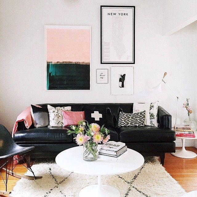 Firsthome Black Furniture Living Room Living Room Color Schemes