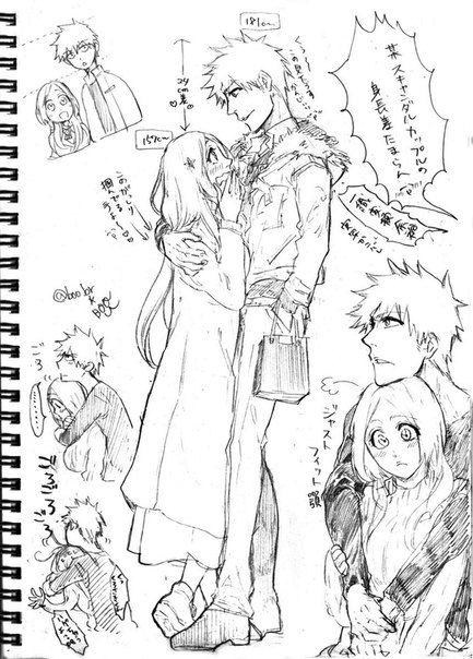 ♥Ichigo & Orihime「IchiHime」Ичиго и Орихиме♥ | Ichigo y Orihime ...