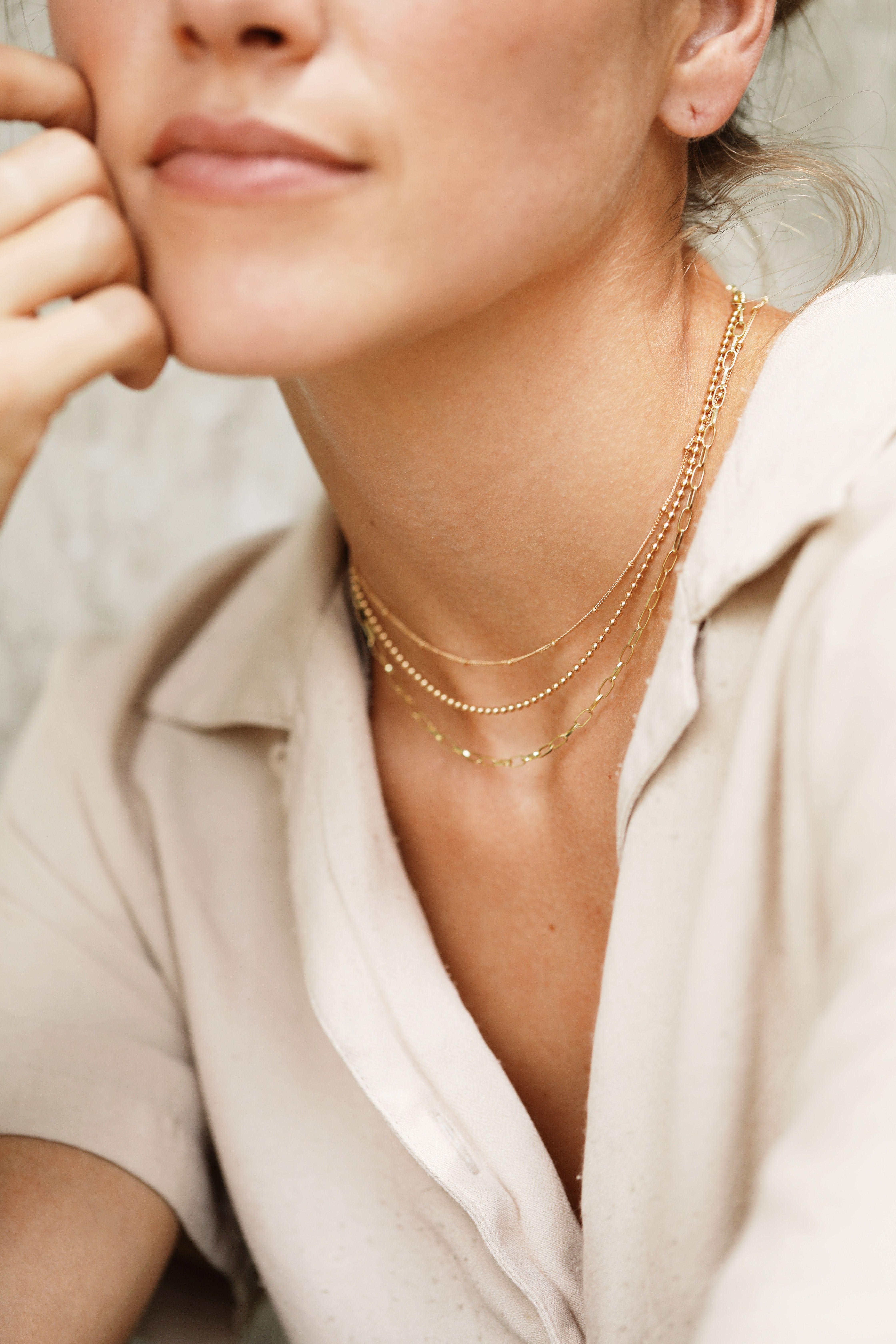 Long leaf pendant necklace boho necklace layering necklace layered gold chain necklace long gold chain necklace oak leaf necklace