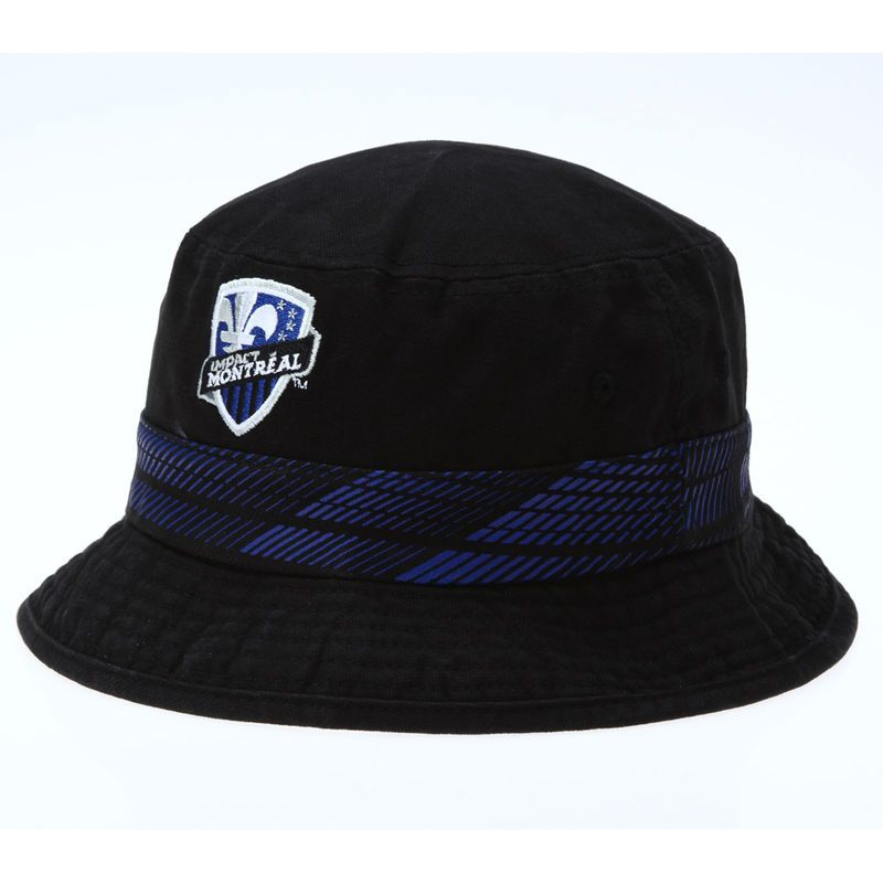 Montreal Impact adidas Bucket Hat - Black  3ad70af4d7d