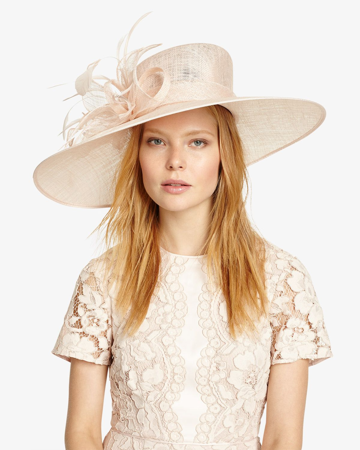 c7897ced Ladies Tea Party Hats- Make or Buy Victorian Hats Phase Eight Cecily Flower  Trim Hat £110.00 AT vintagedancer.com
