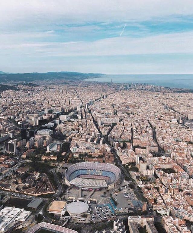 The beautiful Barcelona