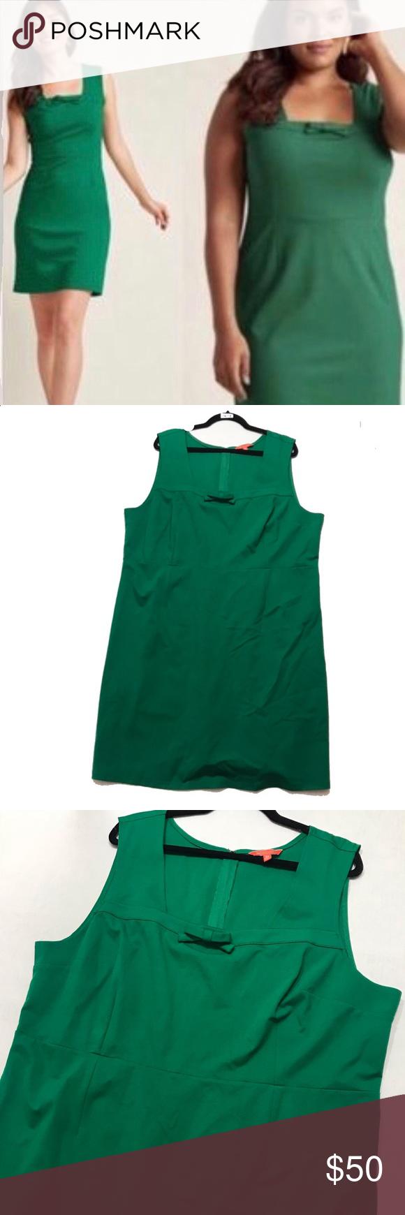 7b6ab2eea28 Modcloth Kelly Green Sleeveless Sheath Dress Modcloth Kelly Green  Sleeveless Sheath Dress. Women s size 3X