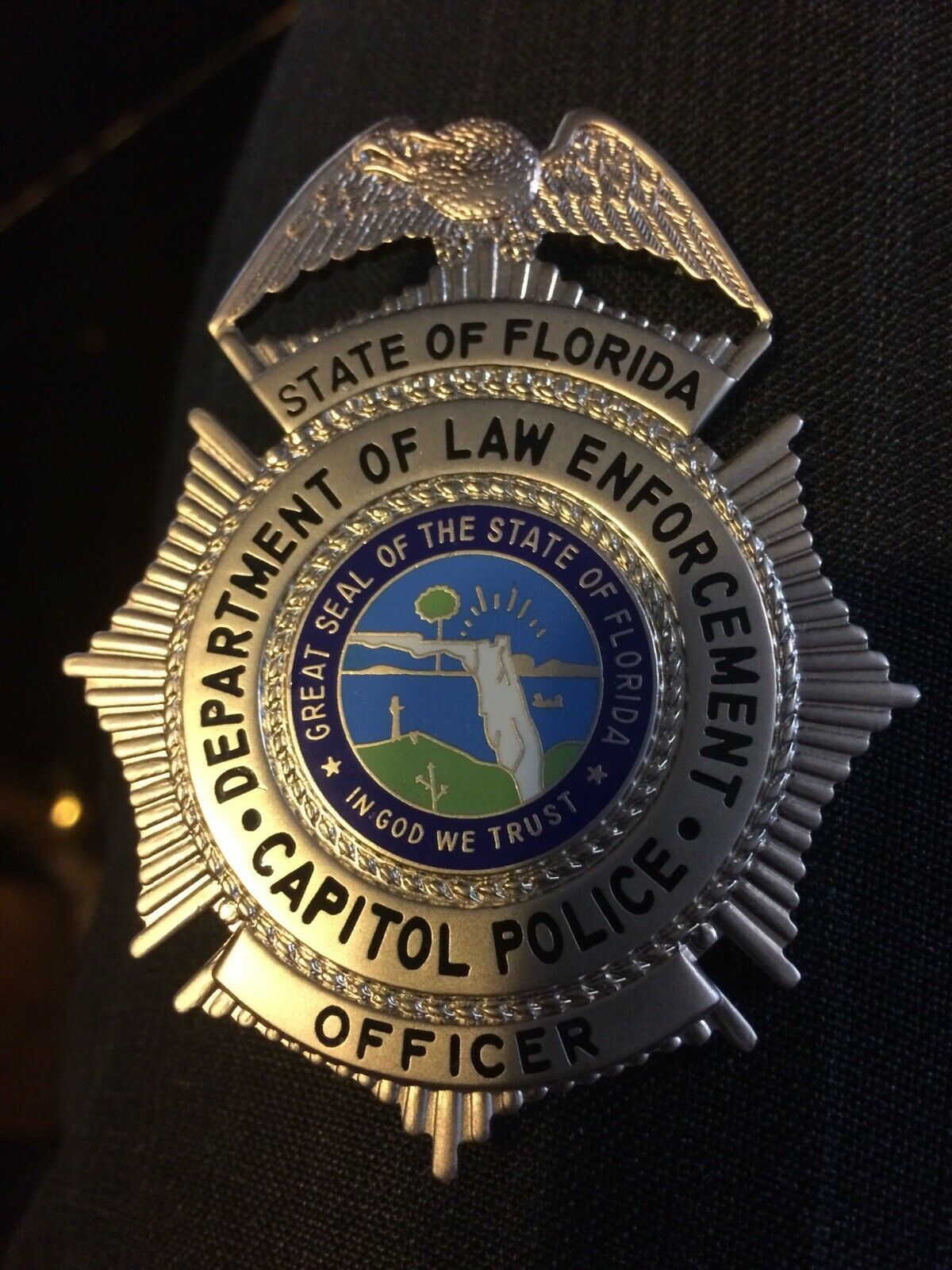 Officer, Capitol Police, State of Florida | badges | State