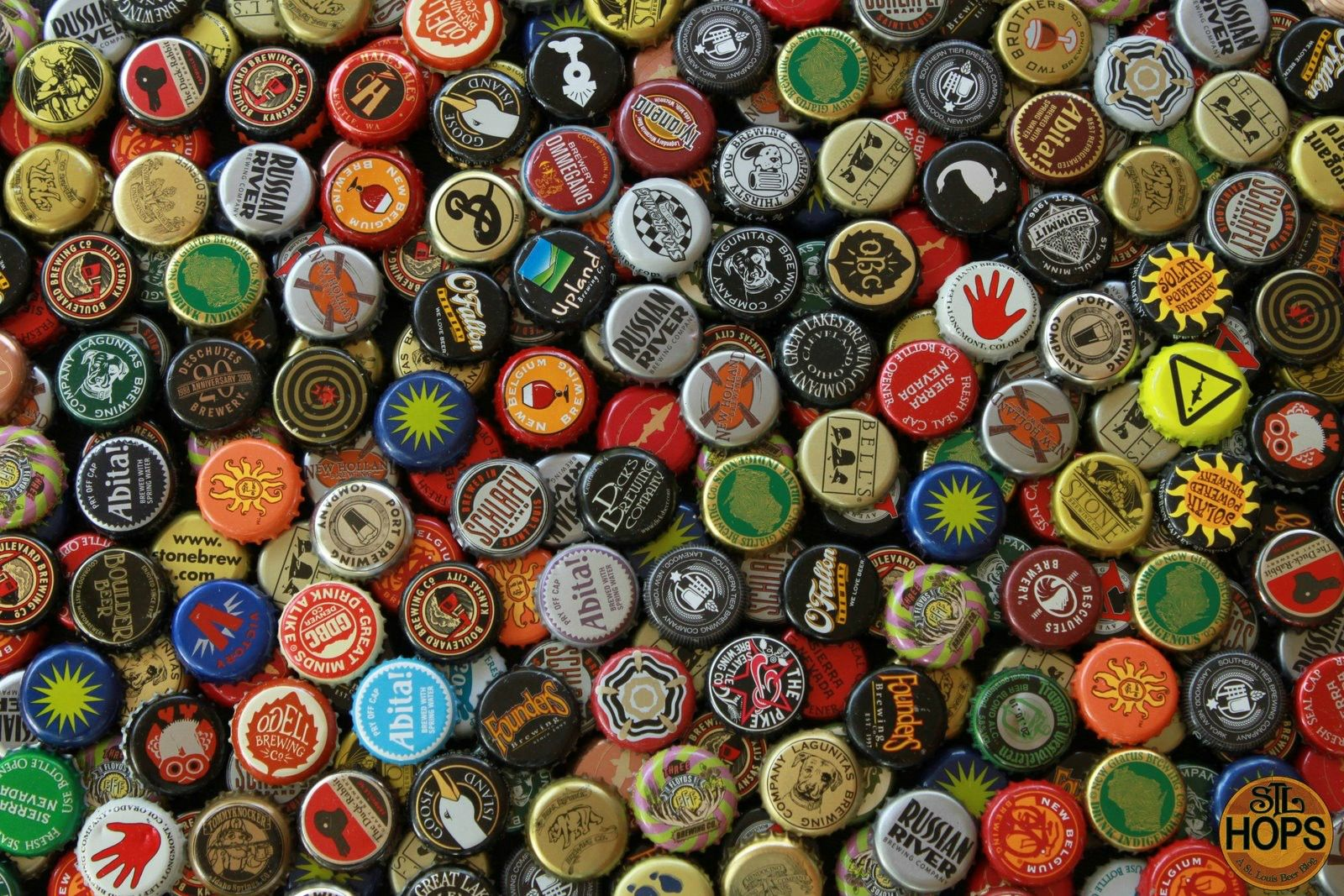 Beer wallpaper my style pinterest burgers and wine for Pictures of bottle caps