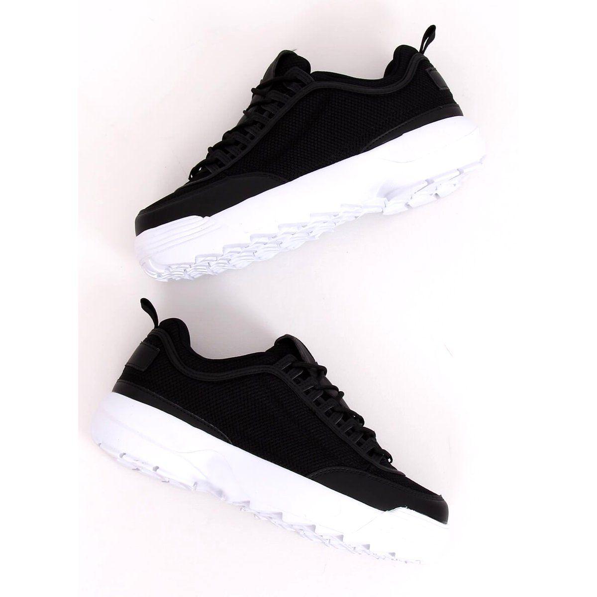 Trampki Damskie Butymodne Buty Sportowe Czarne Dsc82 Black Black Sports Shoes Sports Shoes Shoes