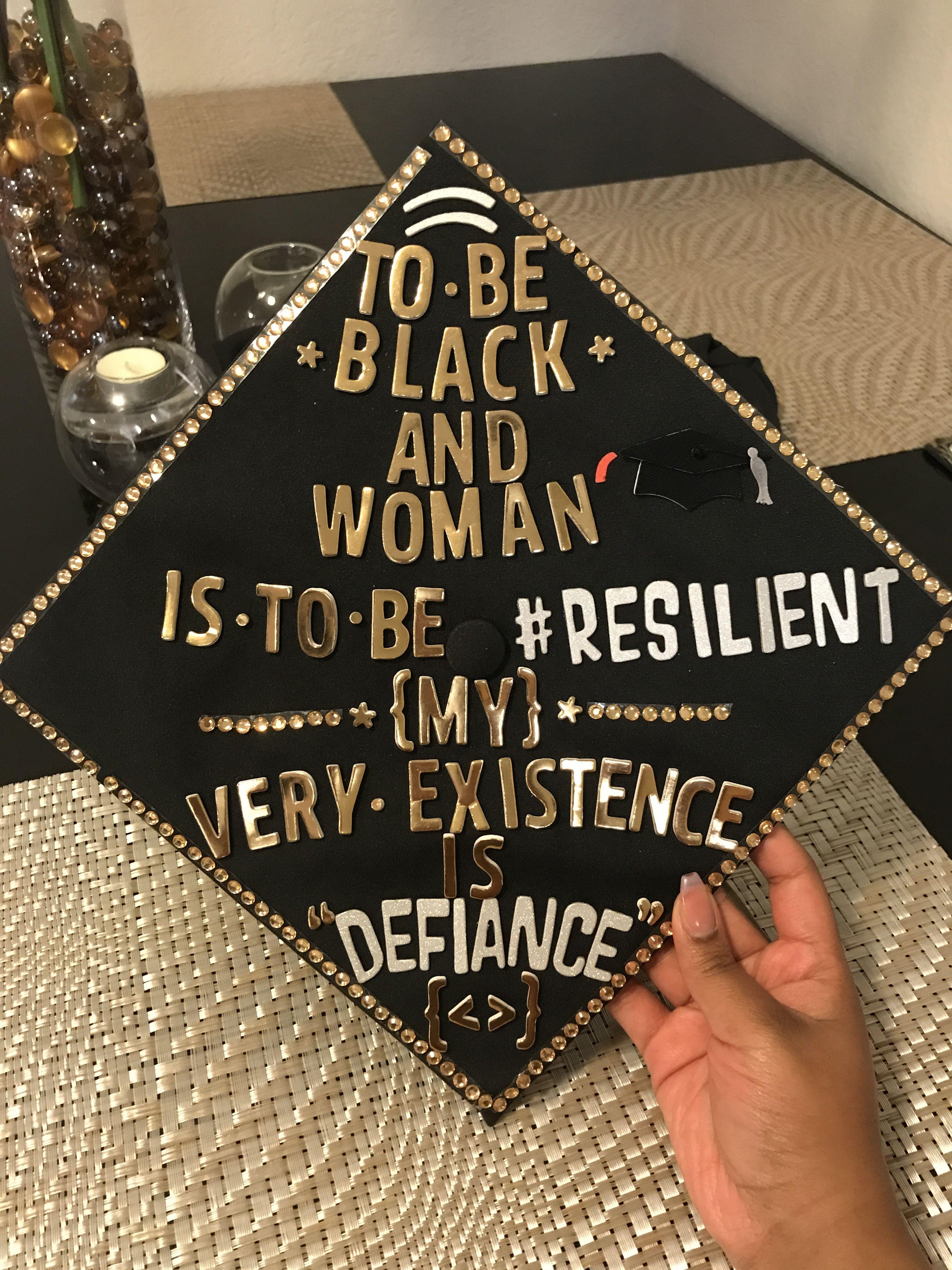Graduation Cap For Black Women  Black Art  Graduation -4958