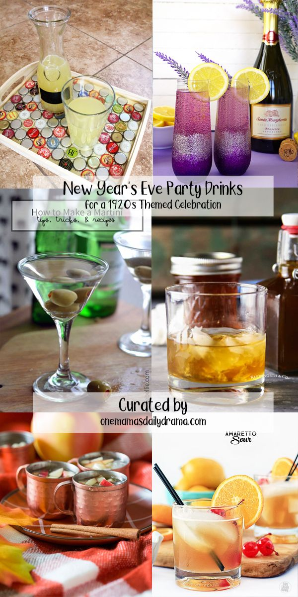 New Year's Eve Party Inspired by the 1920s | Printable ...