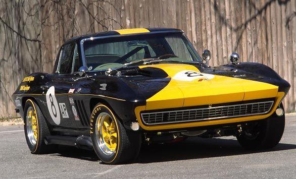 1966 Corvette Daytona # 8 Racer | Vette | Chevrolet corvette, Cars