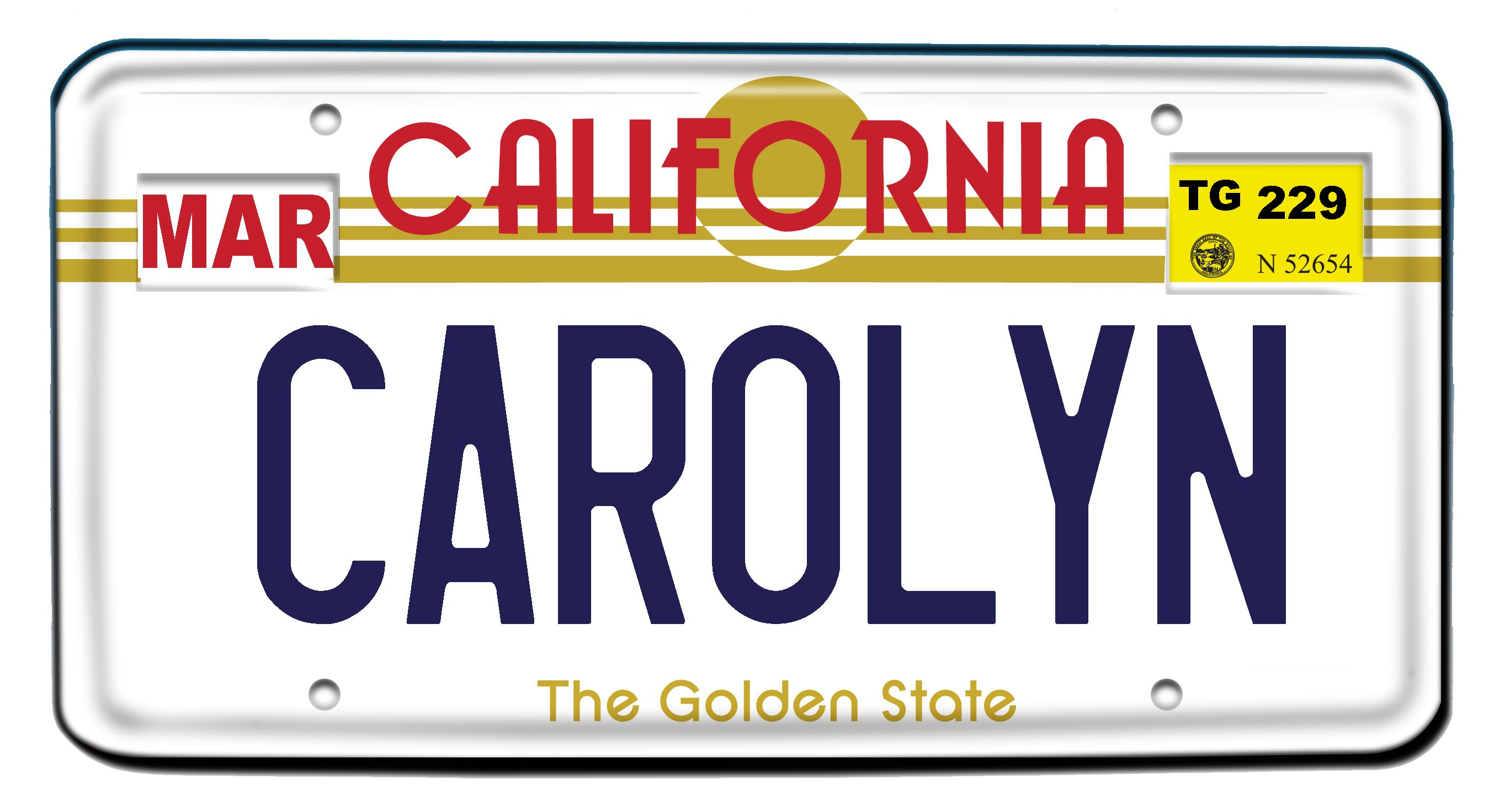 how to change your license plate number in california