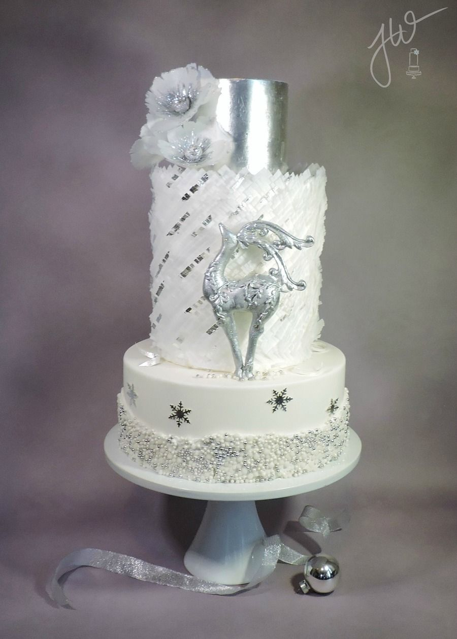 Silver WinterMy last cake of 2014.. There were a couple...