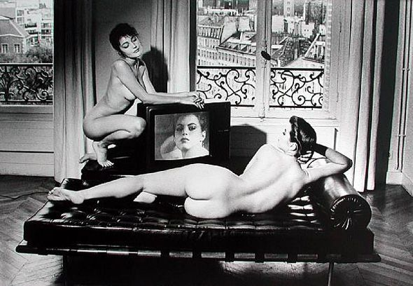 After Velasquez in my Apartment, Paris, 1981