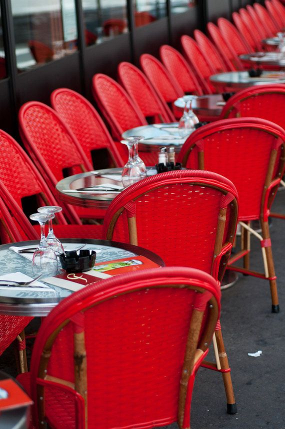 Chaise Rouge. A Little Bistro In Paris That I Always Try To Visit Whenever  Iu0027m There. The Owners Are A Sweet Couple Who Are Friends With My Mother ...