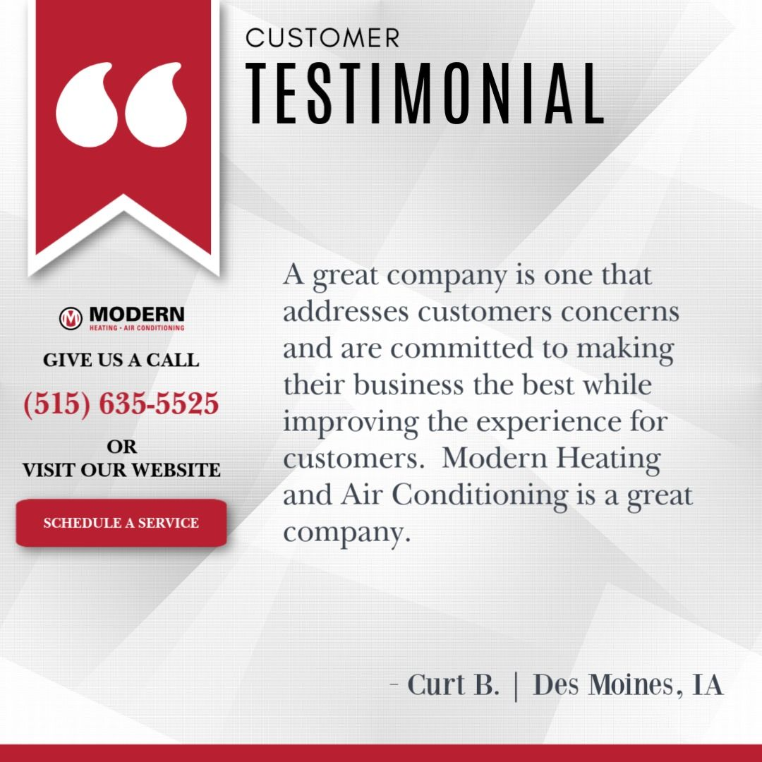 Testimonial in 2020 Heating and air conditioning, Air
