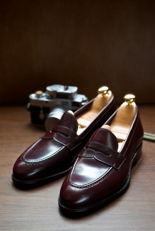 Uetam Loafer In Penny Cordovan Carmina At The Armoury Http Www