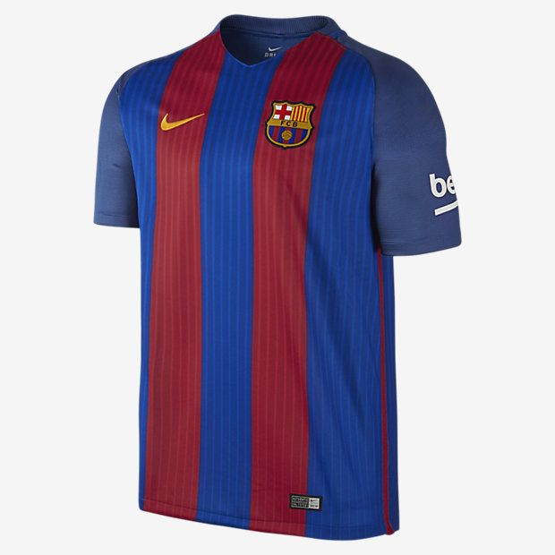Maillot de football 201617 F.C. Barcelona Stadium Home pour
