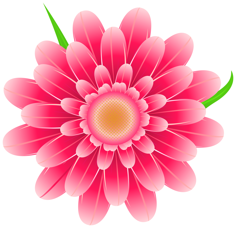 Transparent Pink Flower Clipart PNG Image Flower clipart