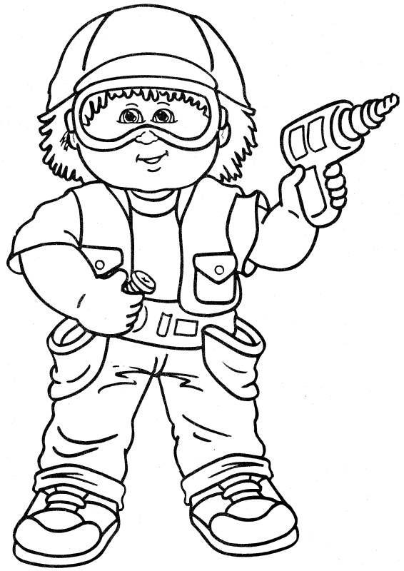 Cabbage Patch Kids 5 | Oficis | Pinterest | Profesiones y Dibujo