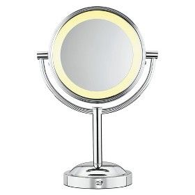 conair double sided lighted makeup mirror target mobile ems dorm