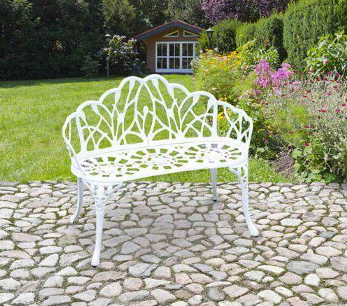 Gartenbank Metall Weiß Unbedingt Kaufen Gartenbank