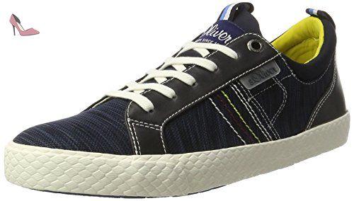 13623, Sneakers Basses Homme, Bleu (Navy 805), 41 EUs.Oliver