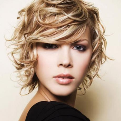 Dauerwellekurzehaare  Curl Inspiration  Curly hair styles Short Curly Hair Curly hair cuts