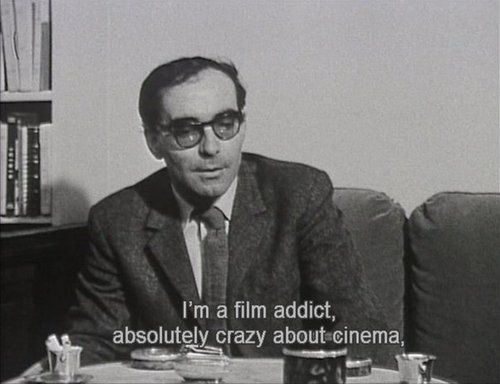 Resultado de imagen para godard addicted to cinema