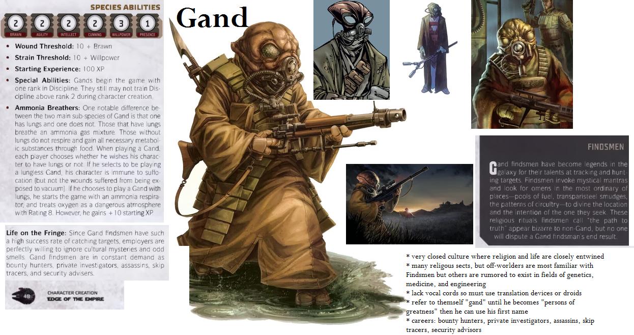 gand star wars edge of empire fantasy flight games star wars