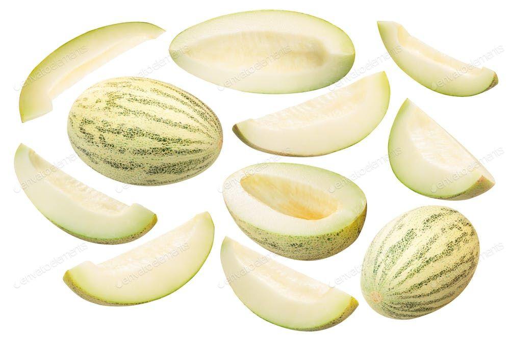 Muskmelon c melon whole and sliced paths By maxsol7s photos