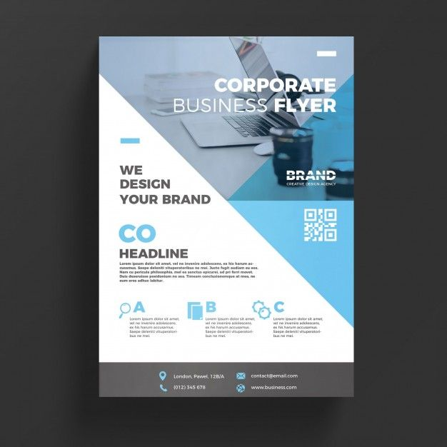 Modelo De Inspeo Corporativa  Business Flyer Templates
