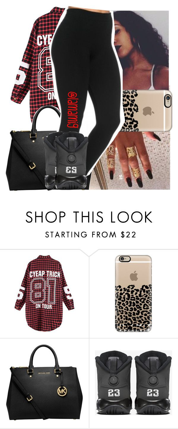 """""""are you sure you can handle this?"""" by lamamig ❤ liked on Polyvore featuring Casetify, MICHAEL Michael Kors, women's clothing, women, female, woman, misses and juniors"""