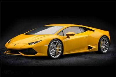 Pocher Lamborghini Huracan LP 610-4 Model Kit, Pearl Effect Yellow, No. HK106, 1/8 Scale
